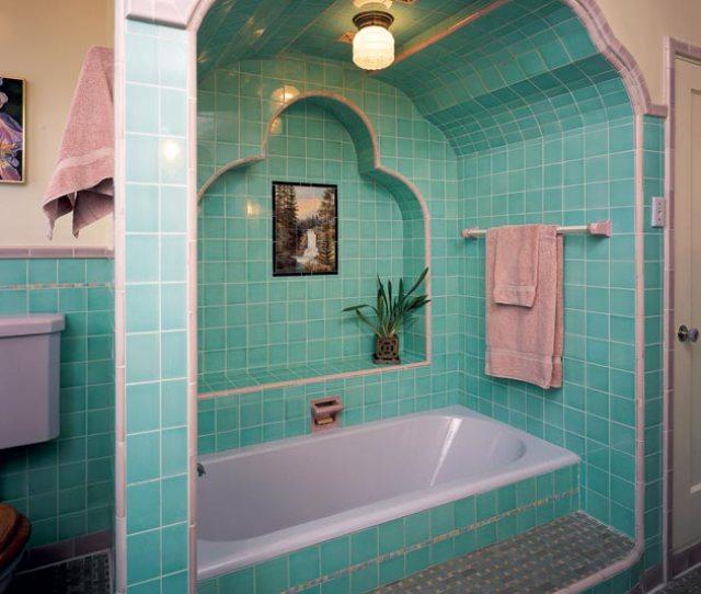 A Modern Bath Exhibited At The Metropolitan Museum Of Art In  Showcased Black Kohler Fixtures