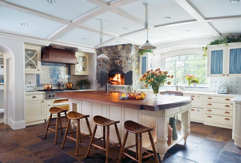 5 Ways to Design a Traditional Kitchen - Old House ... on Traditional Kitchen Decor  id=46250