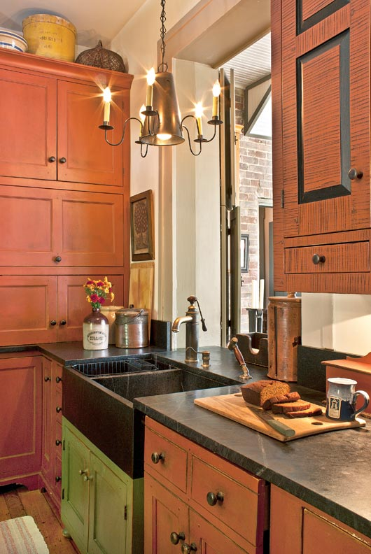 Best Kitchen Gallery: 8 Ways To Design A Kitchen For An Early House Restoration Design of Early American Kitchen Cabinets on rachelxblog.com