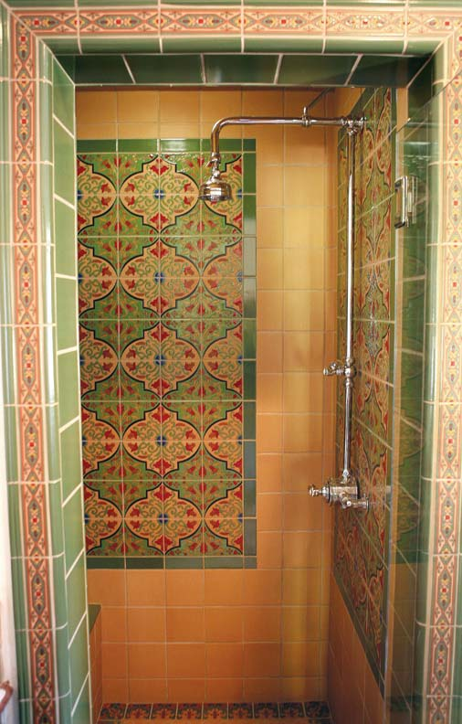 How To Match New Tile to Old - Old House Restoration ... on Floral Tile Bathroom Ideas  id=83389