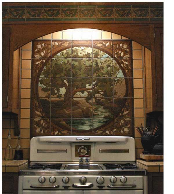 Art Tile Murals Amp Panels Restoration Amp Design For The Vintage House Old House Online