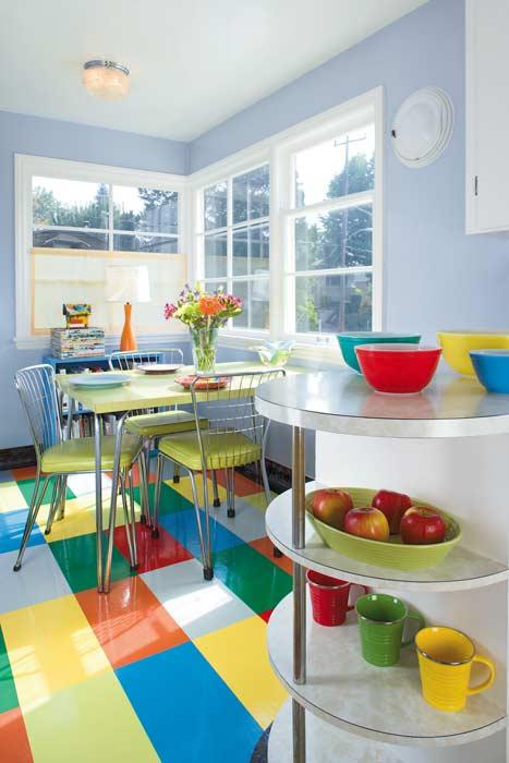 Ideas For Kitchen Floors Linoleum Tile Amp More Restoration Amp Design For The Vintage House