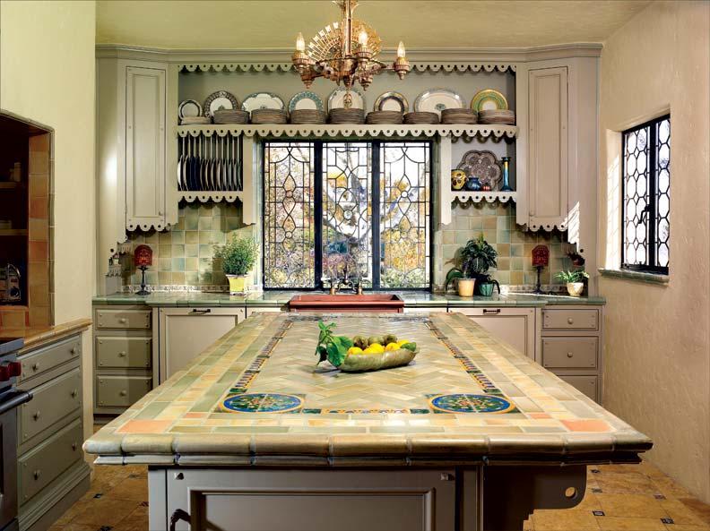 Spanish Kitchen Makeover Restoration Amp Design For The Vintage House Old House Online