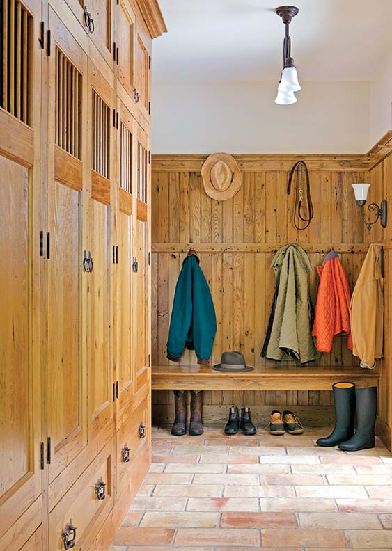 How To Design A Traditional Mudroom Old House Journal