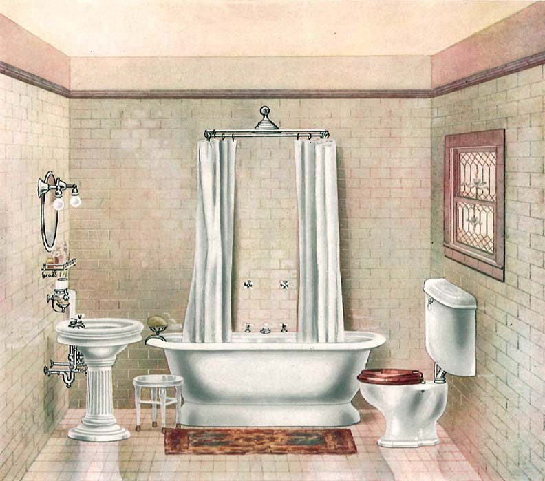 The History Of The Bathtub Old House Journal Magazine