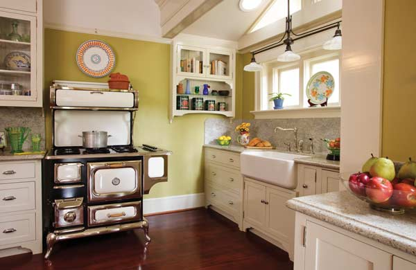 Reinventing The Victorian Kitchen Old House Journal Magazine