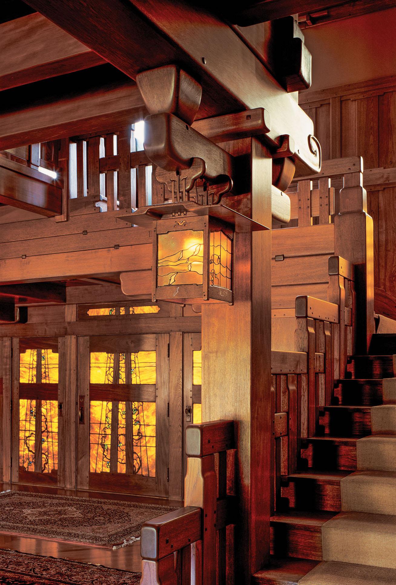 The Japanese Influence Of Greene Amp Greene Old House