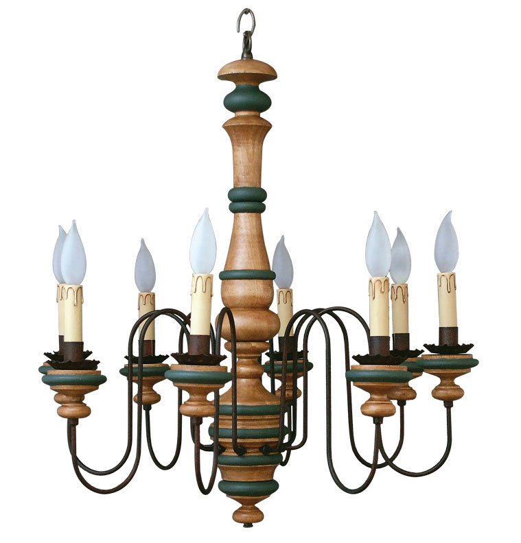 the best chandeliers for colonial era