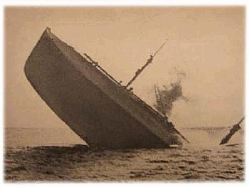 TUSCANIA TORPEDOED 1918ELEMENTS OF 32ND DIVISION