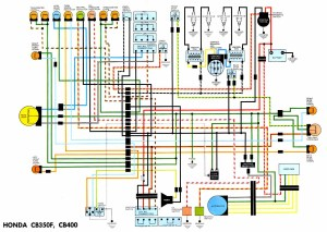 75 CB400F Simple wiring?? Convert to kickstart only??