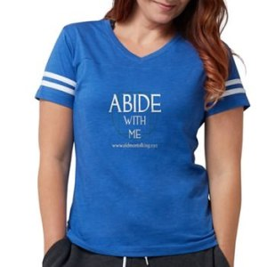 Womens abide football T