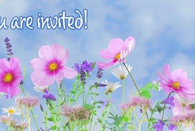Flower Invitation | Old Metairie Garden Club