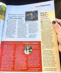 Travel Magazine Features OMGC's Reveillon On The Ridge | Old Metairie Garden Club