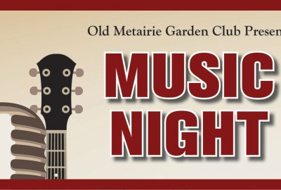 Music Night March 2019 | Old Metairie Garden Club