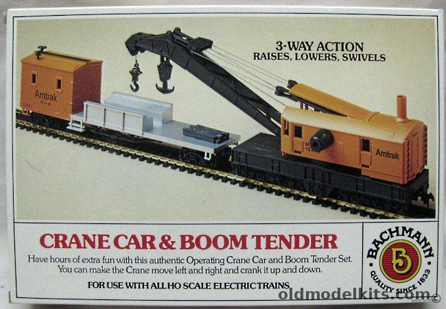 Bachmann HO Crane Car Amp Boom Tender HO Scale Model 46115