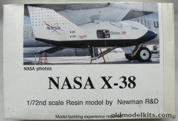 Newman R&D 1/72 NASA X-38 CRV Crew Return Vehicle