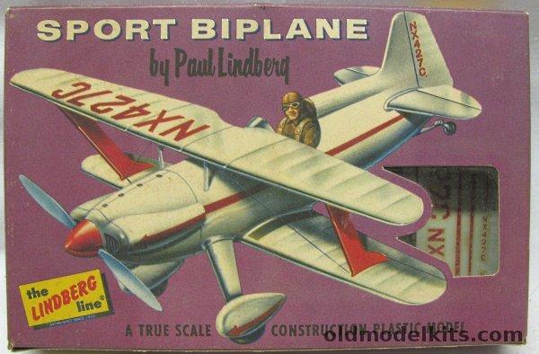 Lindberg 148 Knight Twister Sport Biplane Cellovision