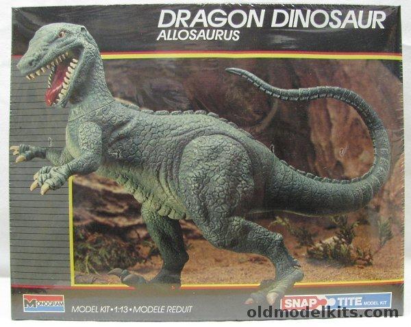 Monogram 113 Allosaurus Dragon Dinosaur 6078
