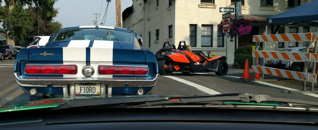 Creamsicle Batmobile