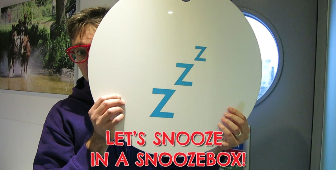 Snoozebox. Cardiff, Wales