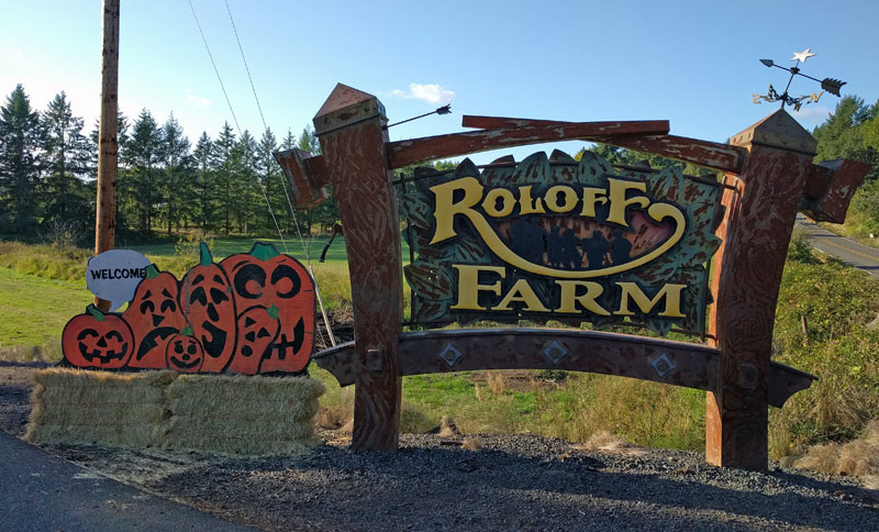 Roloff Farms Sign