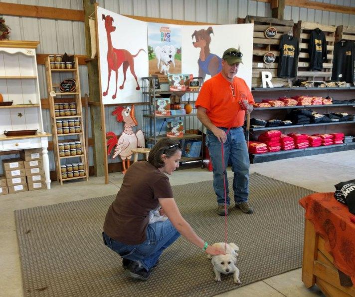 Roloff Farm Lucy the Dog