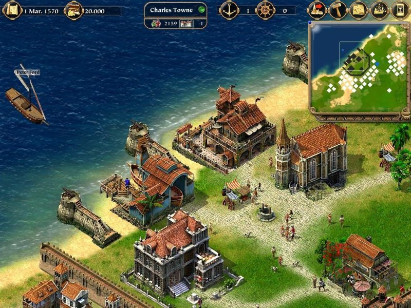 Port Royale  2003    PC Review and Full Download   Old PC Gaming Tags  Port Royale Download Full PC Game Review