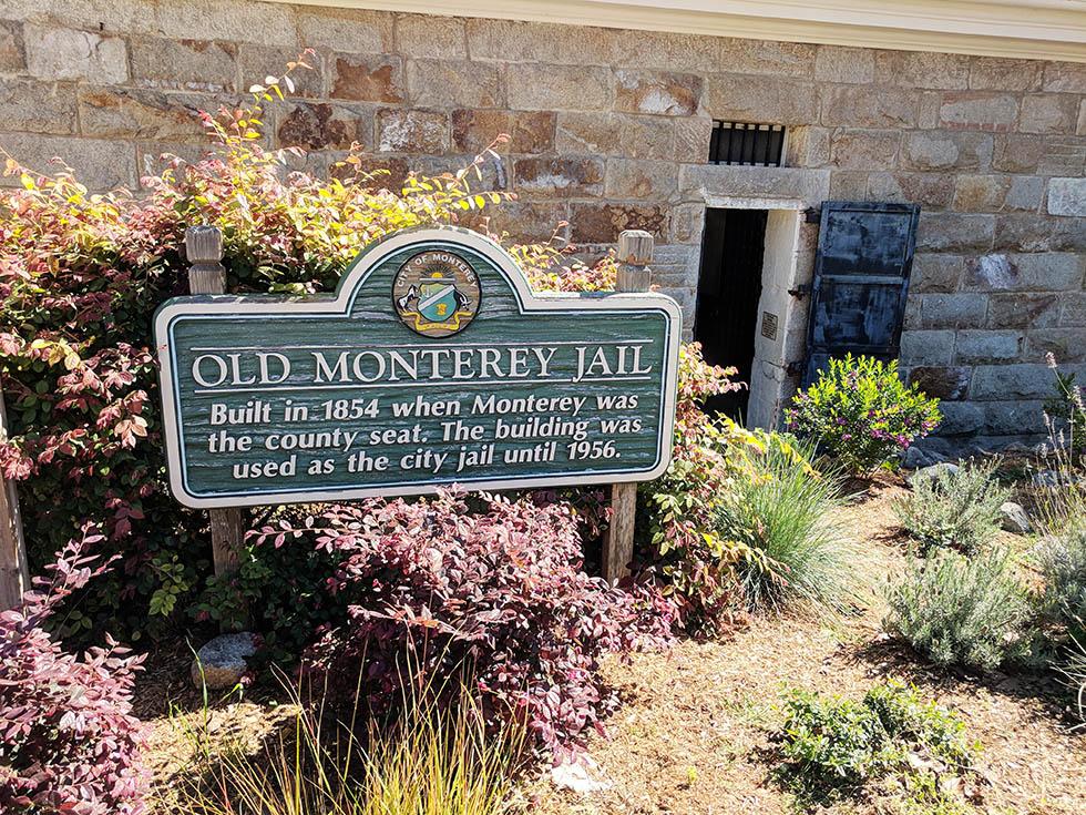 Old Monterey Jail Monterey CA