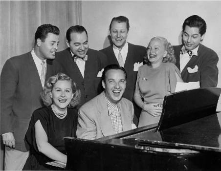 bob crosby & margaret whiting with modernaries