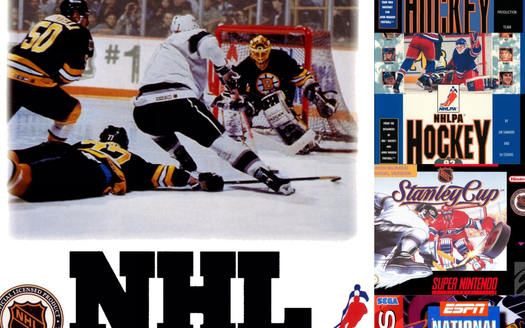 The Greatest Hockey Games of the 16-Bit Era