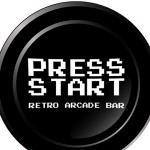 Press Start Retro Arcade Bar