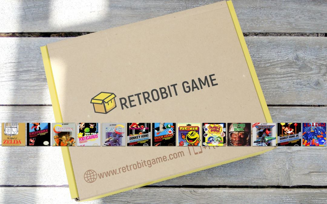 New Retro Game Subscription Box Service Set Up Fans of Retrogaming