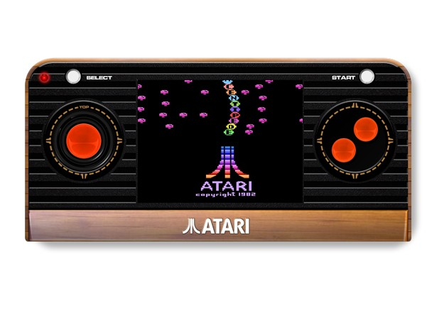 Atari 2600 Returns as New Compact Handheld and Innovative Plug and Play TV Joystick with 50 Classic Atari® Games Built-In