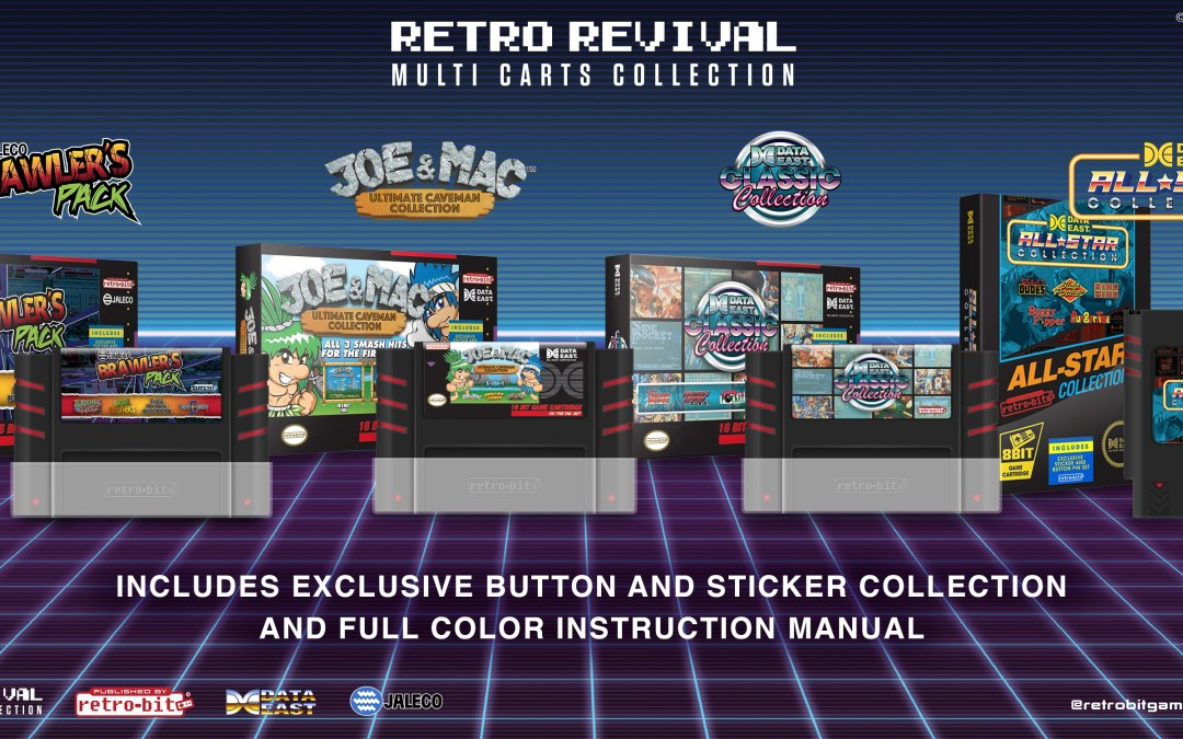 Retro-Bit releases Multi-Carts for NES and SNES