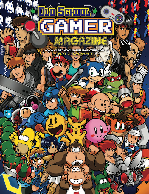 Old School Gamer Magazine – Issue #1 ONLINE NOW!