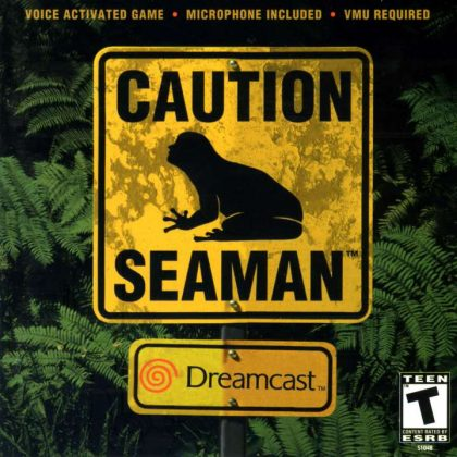 Downright Bizarre: Seaman – Tickle it to make it giggle!
