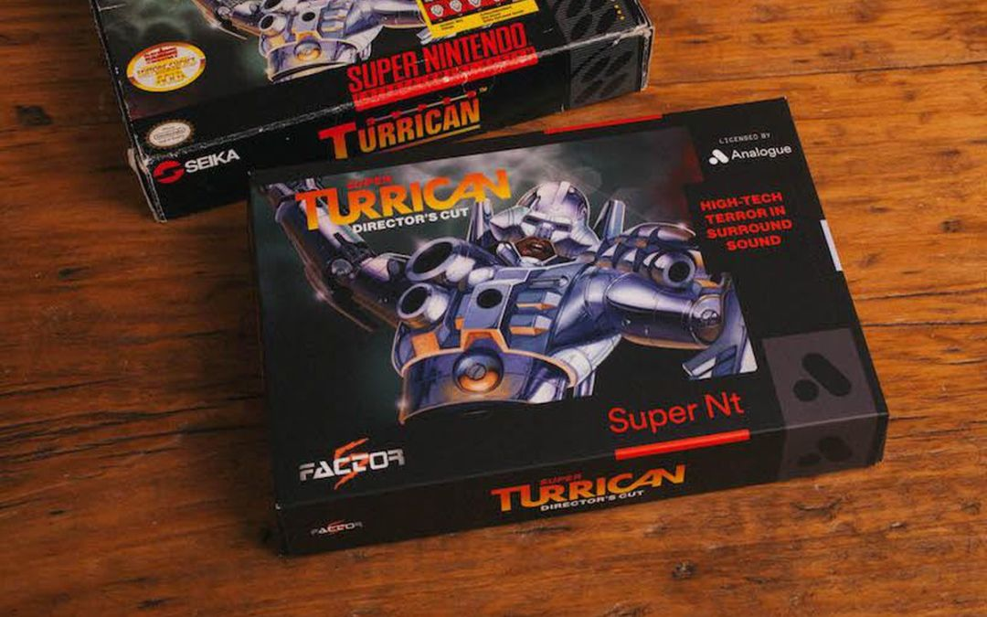 Super Nt to be released with Director's Cut of Super Turrican