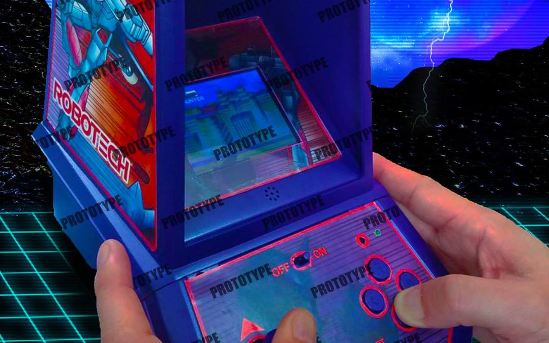 Coleco Announces New Mini-Arcade Based on Robotech Anime