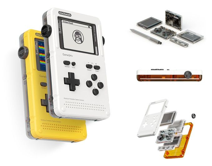 GameShell Launches on Kickstarter and Redefines the Portable Game Console