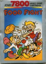 Classic Home Video Video Games 1985-1988:  FOOD FIGHT