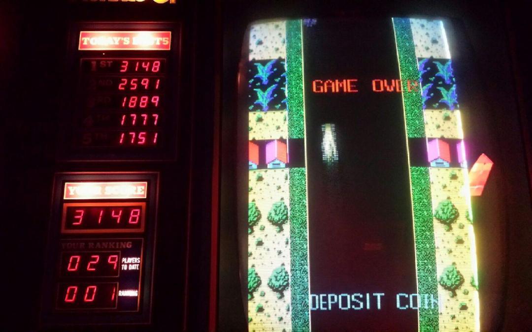 Monaco GP – My First Arcade Game