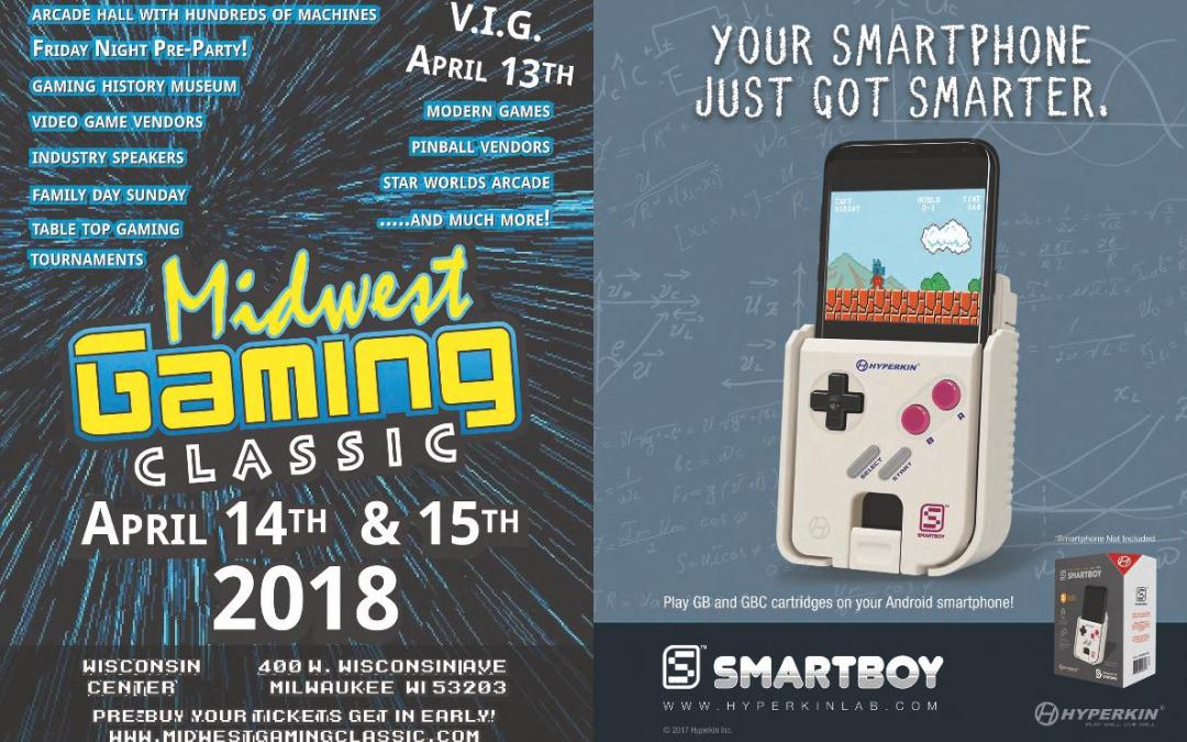 Old School Gamer Issue With Midwest Gaming Classic And Hyperkin - Hyperkin smartphone gameboy