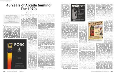 45 Years of Arcade Gaming: The 1970s