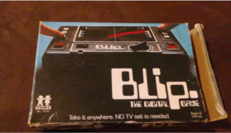Old School Handheld – Blip the Game