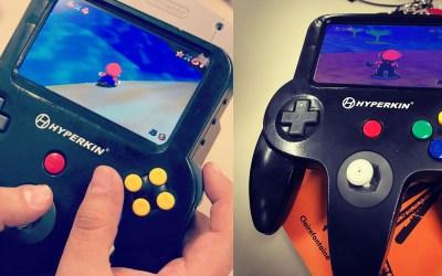 Hyperkin N64 Handheld Prototype Leaked