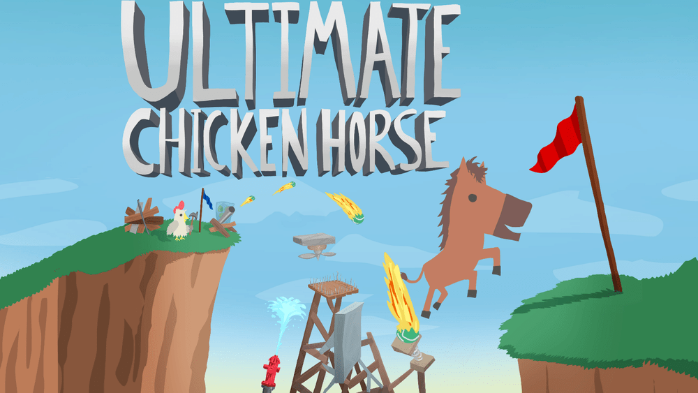 Old School Gamer Exclusive: Inside Ultimate Chicken Horse