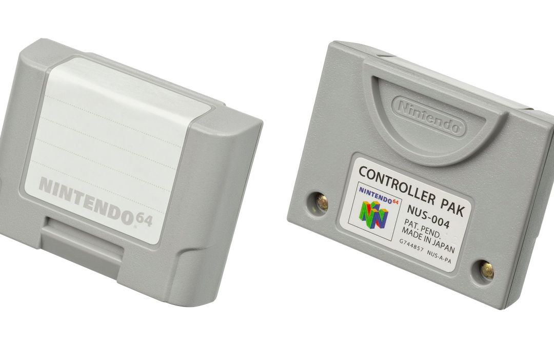 A Closer Look at Nintendo's Official N64 Peripherals: Controller Pak