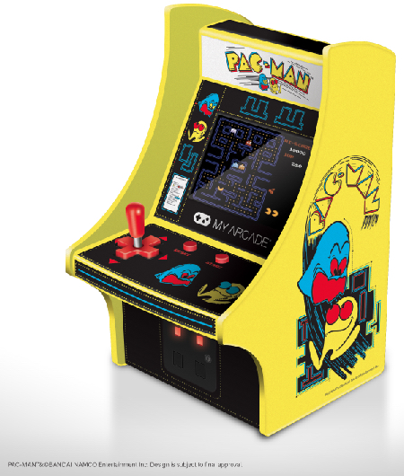 My Arcade Debuts New Collectibles Licensed From Bandai Namco Entertainment at CES 2018