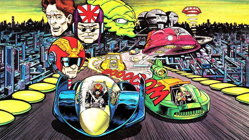 F-Zero: The Original Face of the Super NES