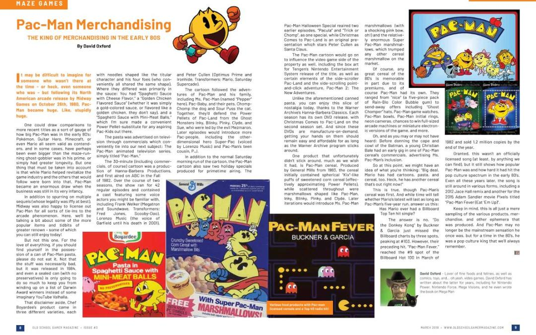 Pac-Man Merchandising: The King of Merchandising in the Early 80s – By David Oxford